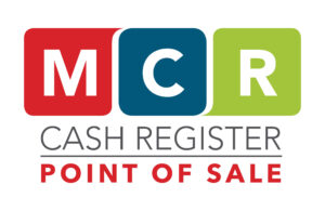 MCR Cash Register Logo