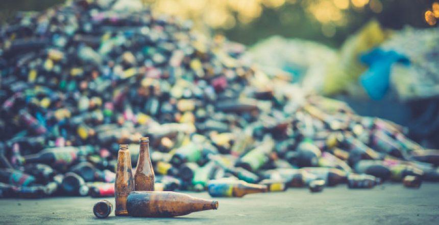 pile of beer bottles